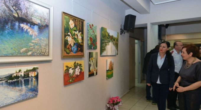 Bursa'da 'Sanat Atölyeleri' sergisi