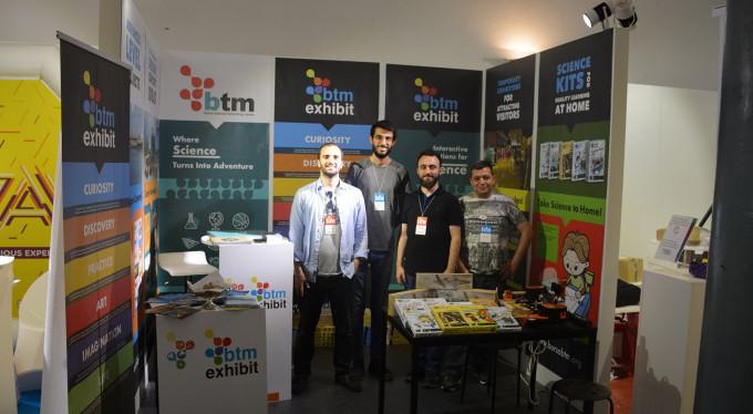 Bursa'nın bilim standına Avrupa'da büyük ilgi