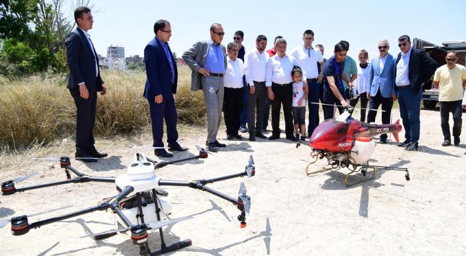 Drone ile sinek savaşı