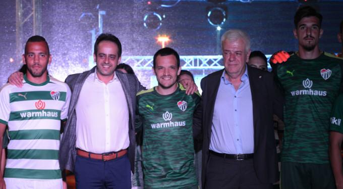 İşte Bursaspor'un yeni sezon formaları!