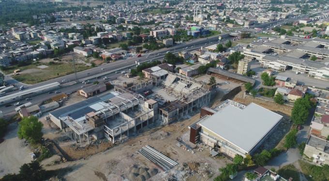 En büyük spor kompleksi Bursa'da yükseliyor
