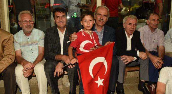 Recep Altepe'den Bursalılara teşekkür