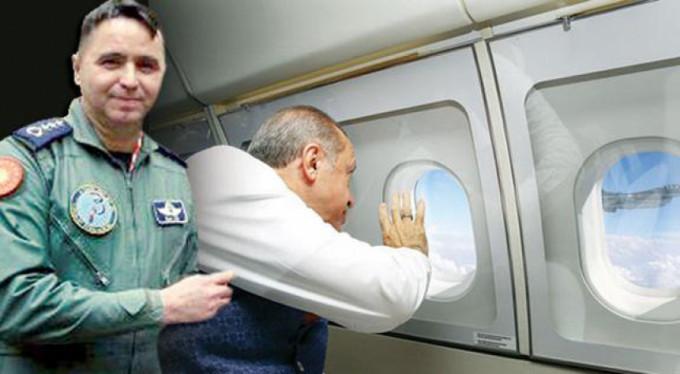 Erdoğan'ı selamlayan pilotun hikayesi