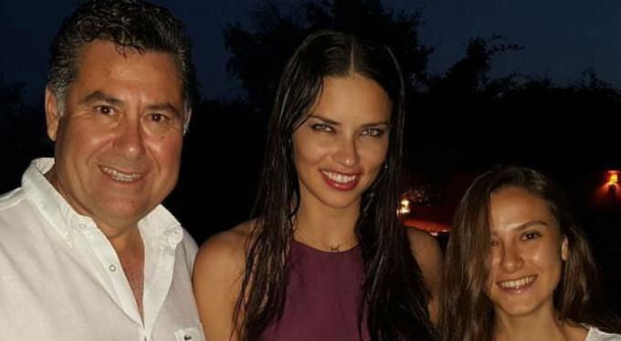 Adriana Lima Türkiye'ye hayran kaldı