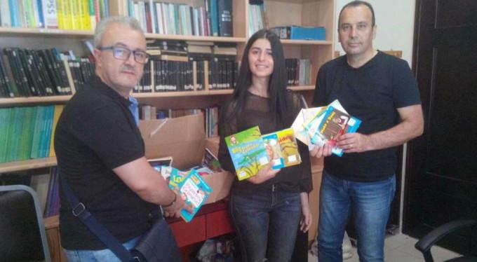 Bursa'dan Batı Trakya'daki çocuklara kitap yardımı