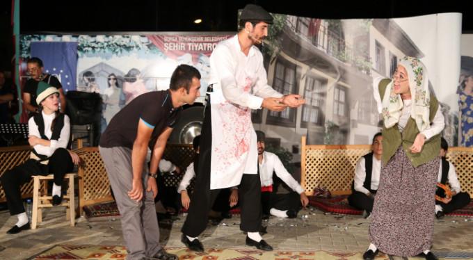 Bursa'da tiyatro köylere gidiyor