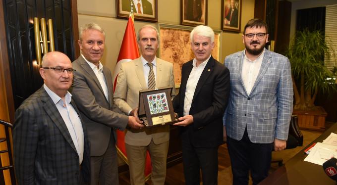 Bursa'nın yeni fuar alanına bir destek daha