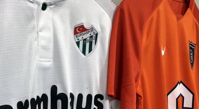 İşte Başakşehir-Bursaspor maçının ilk 11'i