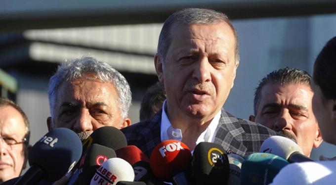 """Erdoğan: """"Bu başlı başına skandaldır"""""""
