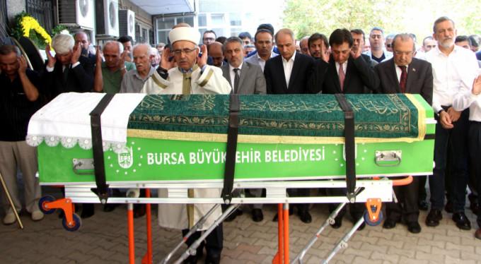 Çavuşoğlu'nun amcası son yolculuğuna uğurlandı