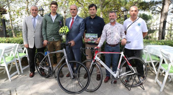 İstanbul'dan Bursa'ya pedal çevirecekler