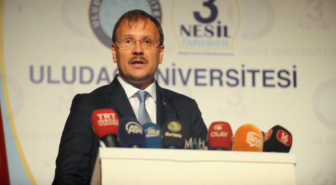 Çavuşoğlu'ndan Bursa'da Arakan açıklaması