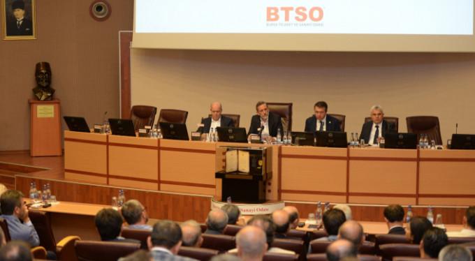 BTSO'dan sözde referanduma veto...