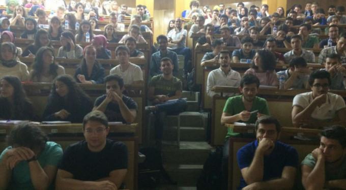 Uludağ Üniversitesi'nde şaşırtan görüntü