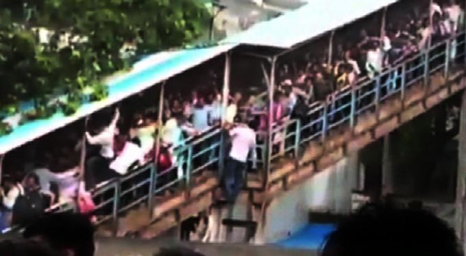 Tren istasyonunda izdiham! 15 ölü 30 yaralı