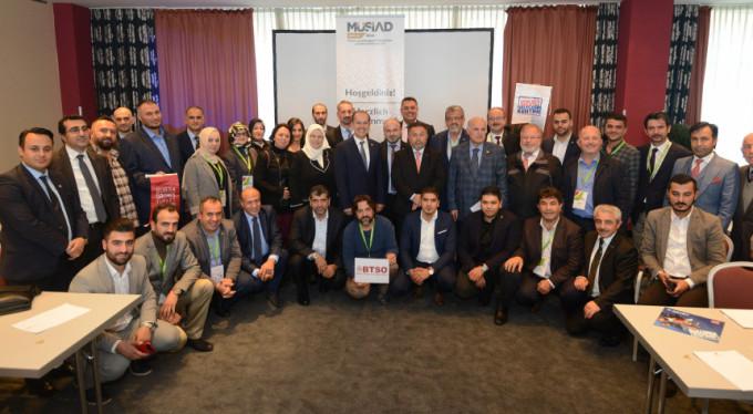 Bursalı gıda üreticileri iş birliği için Almanya'da