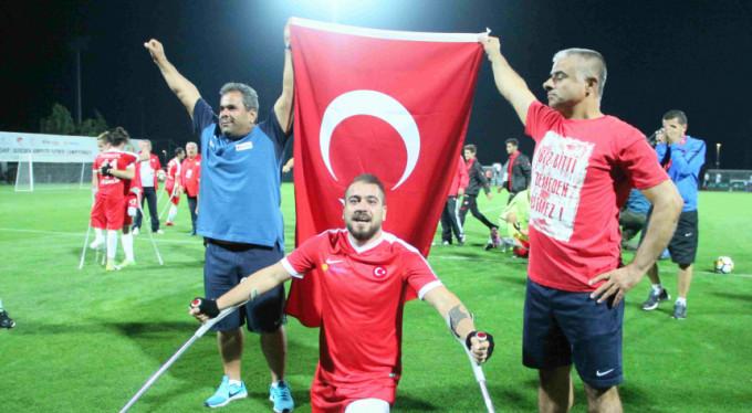 Ampute Milli Takımı Avrupa şampiyonu!