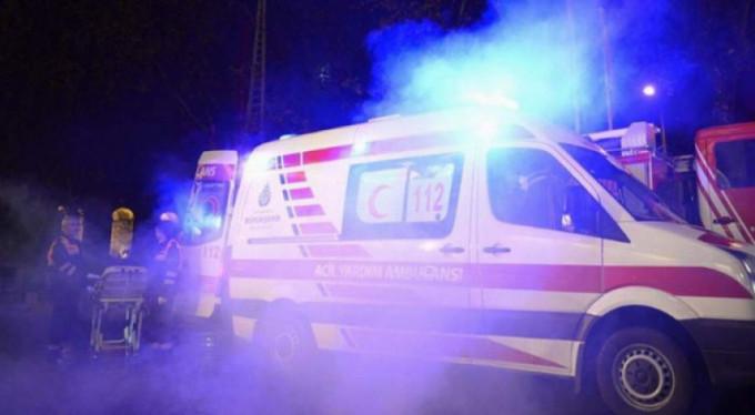 Halk otobüsü ile minibüs çarpıştı! 14 yaralı
