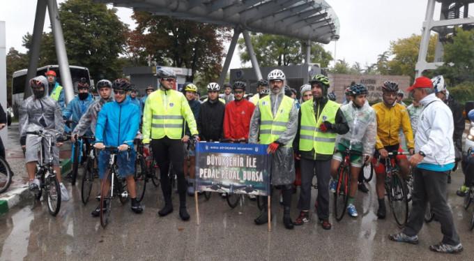 Büyükşehir ile pedal pedal Bursa