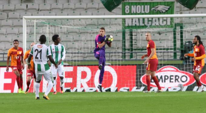 Galatasaray dolu dizgin: 0-2