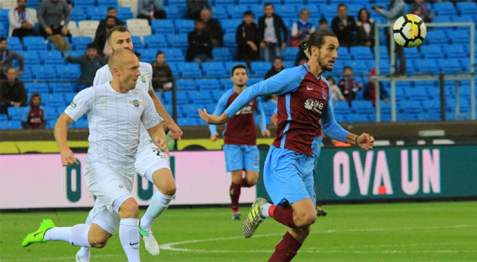 Trabzonspor'a tarihi hezimet: 1-6