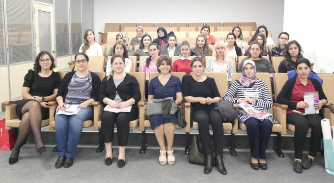 Bursa'da çalışan kadınlara kanser eğitimi