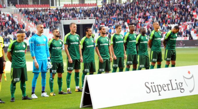 Bursaspor'da oyuncular 1 puandan memnun