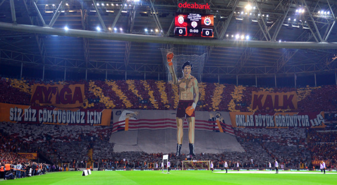 Galatasaray'ın koreografisine soruşturma!