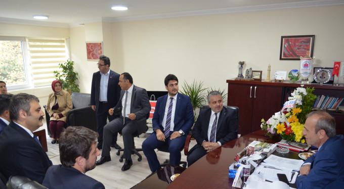 Ayhan Salman'dan Tevfik Topçu'ya ziyaret
