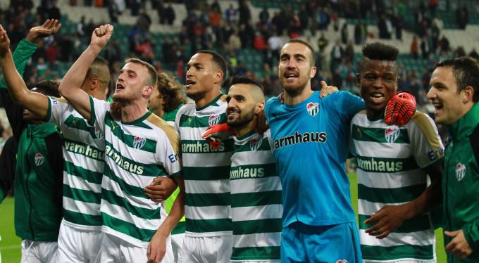 Bursaspor'da şampiyonluktan sonra bir ilk