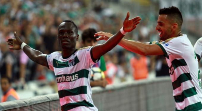 Bursaspor antrenmanında Badu öyle bir şey yaptı ki...