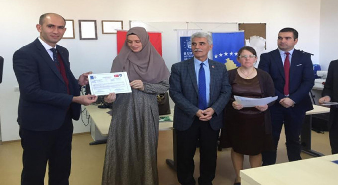 Büyükşehir'den Kosova'da istihdama katkı