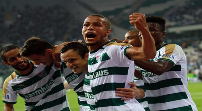 Forvetler atamayınca Bursaspor'da herkes golcü oldu