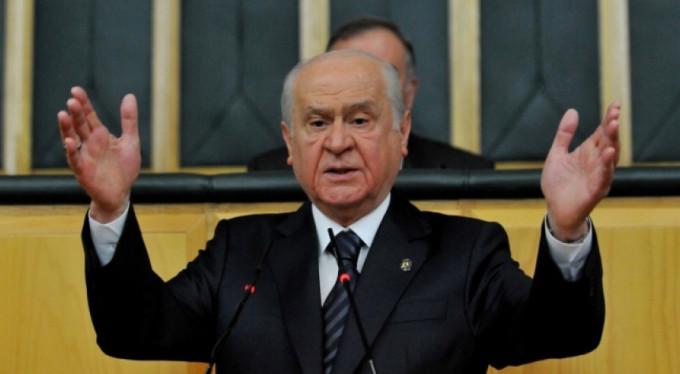 MHP Lideri Devlet Bahçeli'den tam destek