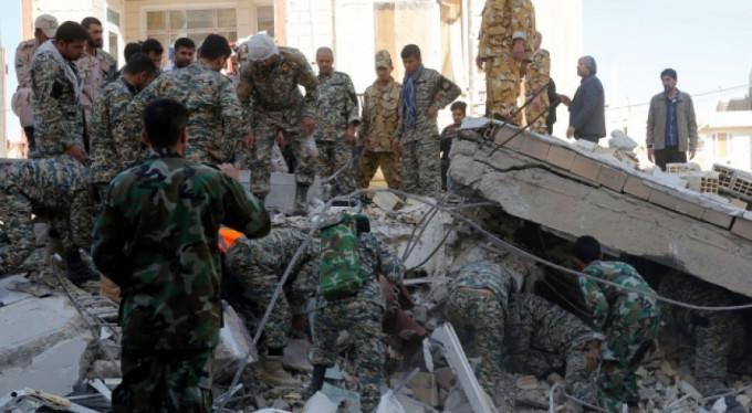 İran-Irak sınırındaki depremde ölü sayısı artıyor...