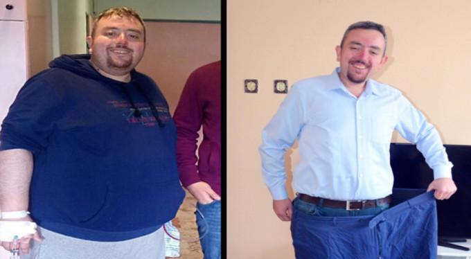 1 yılda bakın kaç kilo verdi!