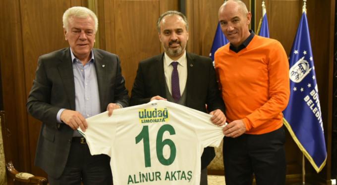 Başkan Aktaş'tan Bursaspor'a destek!
