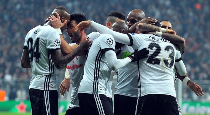 Beşiktaş tarih yazdı: 1-1