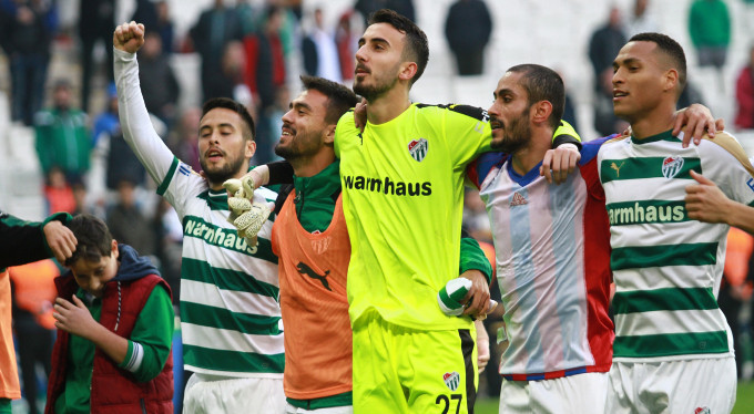 Bursaspor seriyi 6 maça çıkardı