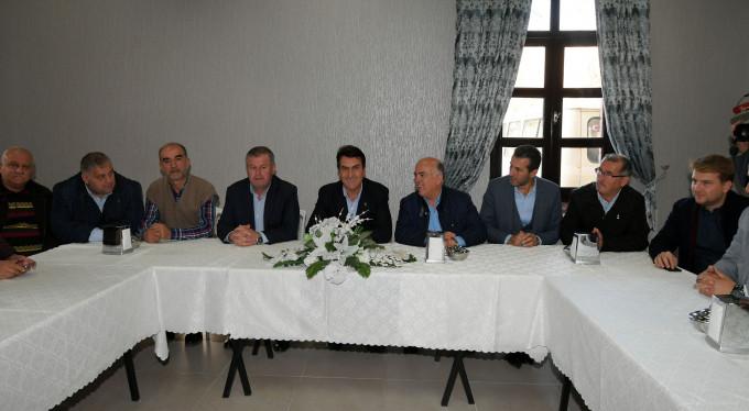 Bursa'da amatör sporun destekçisi