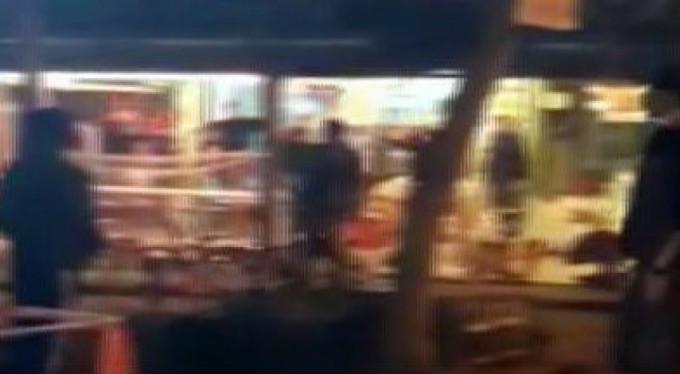 Bursa'da Suriyeli kavgası! Sandalyeler havada uçuştu...