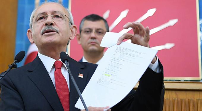 Kılıçdaroğlu iddia ettiği belgeleri açıkladı