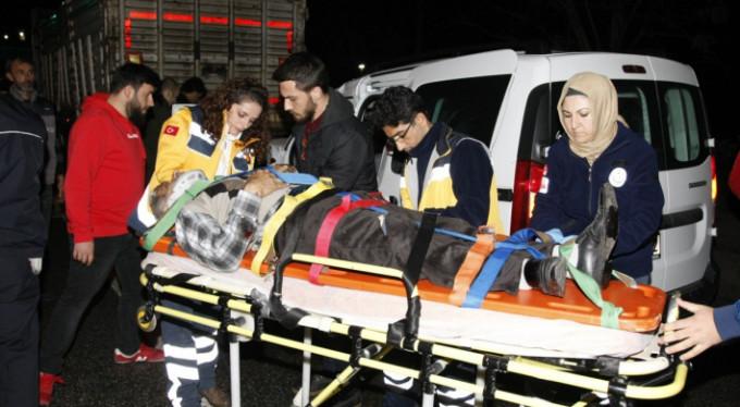 Bursa'da feci kaza! 1 yaralı