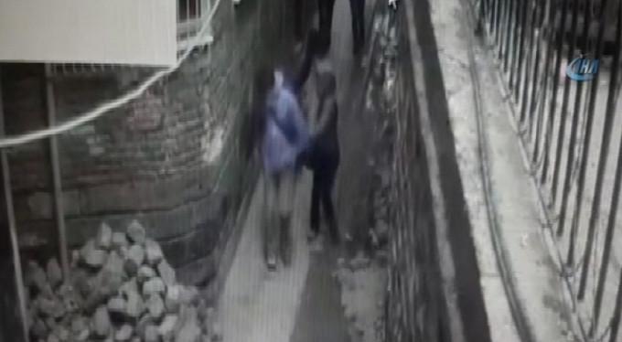 Yönetmen Nuri Bilge Ceylan'ın kapkaça uğradığı an kamerada