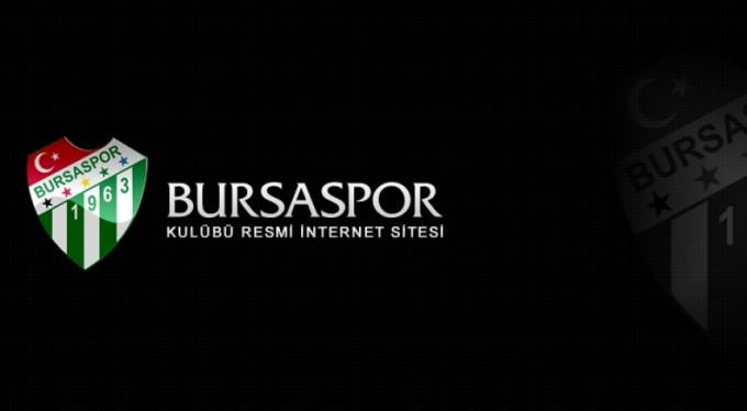 Bursaspor'dan başsağlığı açıklaması