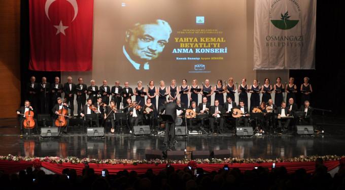 Yahya Kemal Beyatlı Bursa'da anıldı