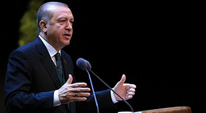 """Erdoğan: """"İddia edildiği gibi bir yolsuzluk davası yoktur"""""""