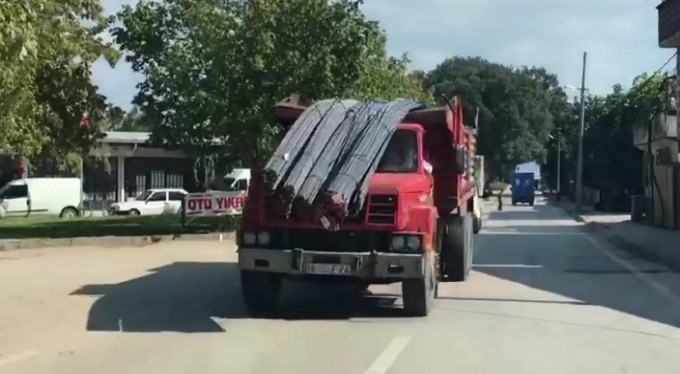 Bursa'da panik anları!