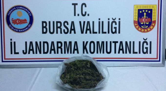 Bursa'da polisi aldatmaya çalıştı ama...