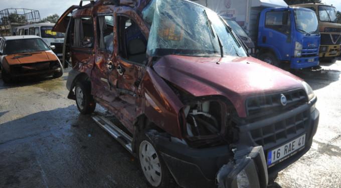 Bursa'da feci kaza! Kurtarılamadı